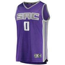 Load image into Gallery viewer, Mens FastBreak Purple Replica Jersey - Icon Jersey - Haliburton 0