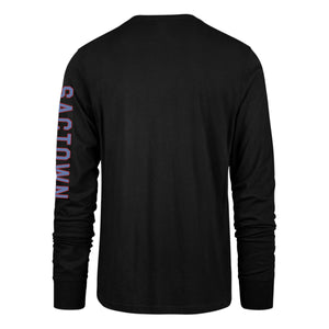 Men's '47 Brand CE 20-21 Super Rival Long Sleeve - Black