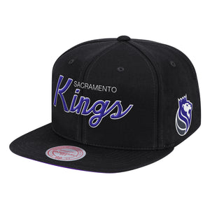 Mitchell&Ness - Found Script Snapback - Black