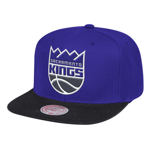 Mitchell&Ness - Wool 2Tone Snapback - Purple/Black
