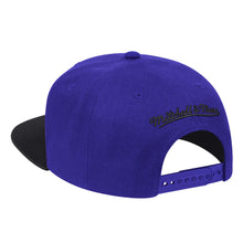 Load image into Gallery viewer, Mitchell&Ness - Wool 2Tone Snapback - Purple/Black