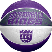 Load image into Gallery viewer, Sacramento Kings Full Size Swarm Basketball