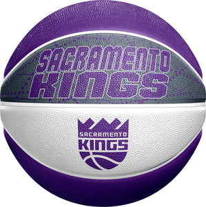 Sacramento Kings Full Size Swarm Basketball