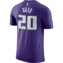Load image into Gallery viewer, Men's Nike Name & Number Tee Purple Giles- 20