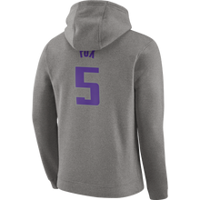 Load image into Gallery viewer, Men's Nike Name & Number Hoodie Fox 05-Gray
