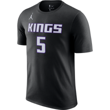 Load image into Gallery viewer, Men's Nike STM Name & Number Tee - Fox 5 - Black
