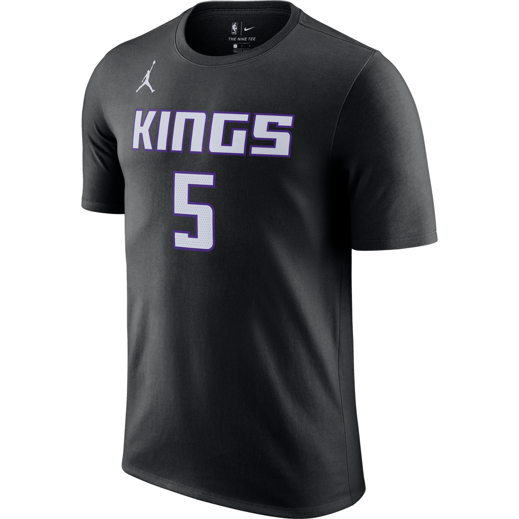 Men's Nike STM Name & Number Tee - Fox 5 - Black