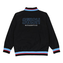 Load image into Gallery viewer, Exclusive - Mens SWISH CE Vintage Warmup Jacket - Black