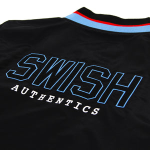 Exclusive - Mens SWISH CE Vintage Warmup Jacket - Black