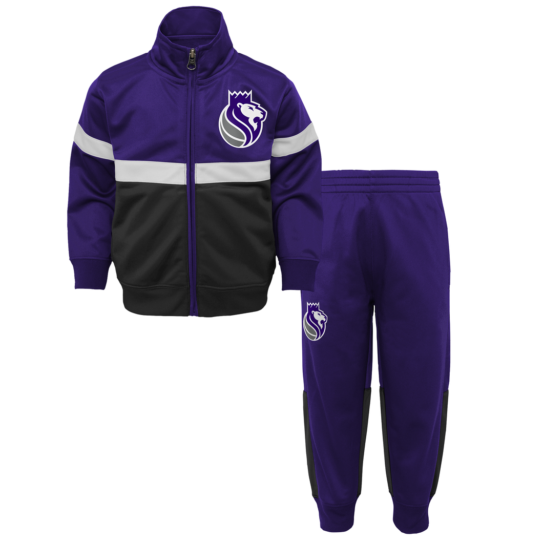 Toddler 2-Piece Shot Caller Track Suit - Purple