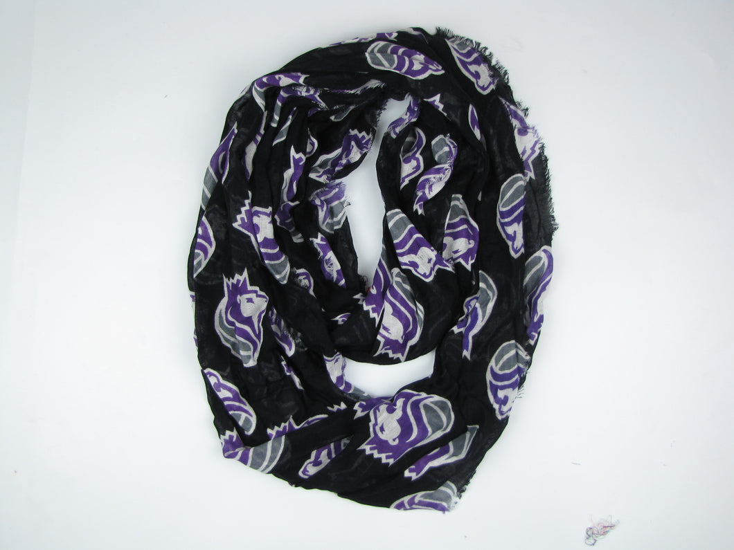 Sacramento Kings Lion Head Logo Scarf