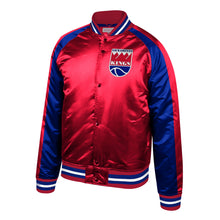Load image into Gallery viewer, Men's Mitchell&Ness Classic Satin Jacket - Red/Blue