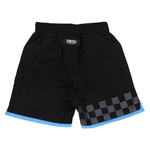 Exclusive - Mens SWISH CE Nylon & Mesh Shorts - Black
