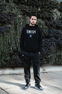 Exclusive - Mens SWISH CE Tech Pullover Hoodie - Black