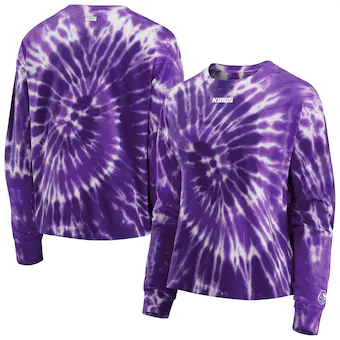 Women's wEAr Tye Dye Long Sleeve - Purple