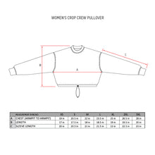 Load image into Gallery viewer, Exclusive - Womens SWISH CE Cropped Crew Pullover - Gray