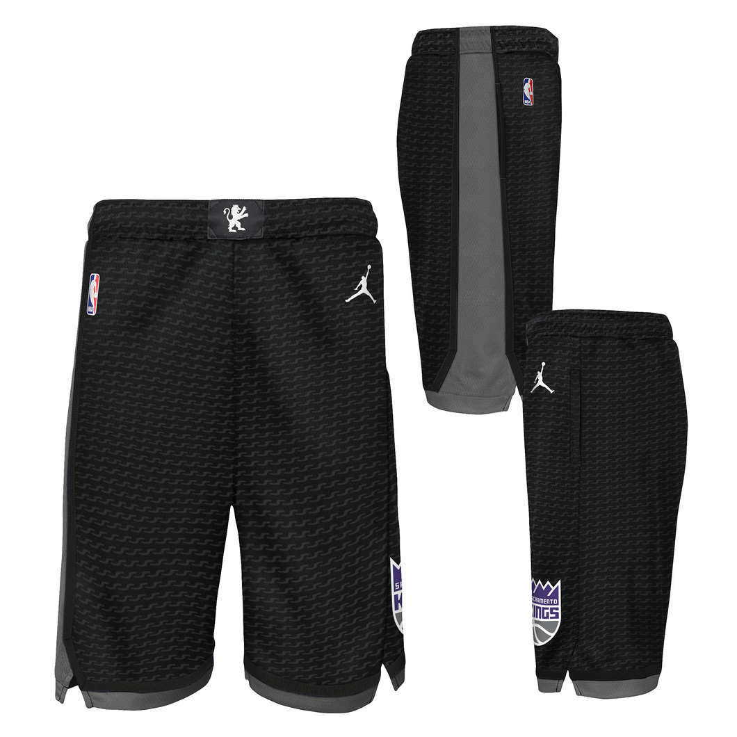 Youth Nike STM Swingman Shorts - Black