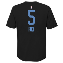 Load image into Gallery viewer, Youth Nike CE 20-21 Name & Number Tee - Fox 5 - Black