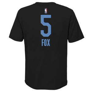 Youth Nike CE 20-21 Name & Number Tee - Fox 5 - Black