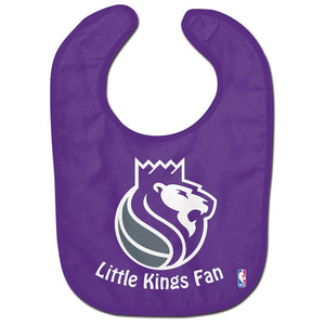 Infant Bib - Little Kings Fan - Purple