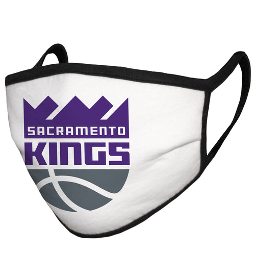 Adult Fanatics Branded Sacramento Kings Cloth Face Covering - MADE IN USA