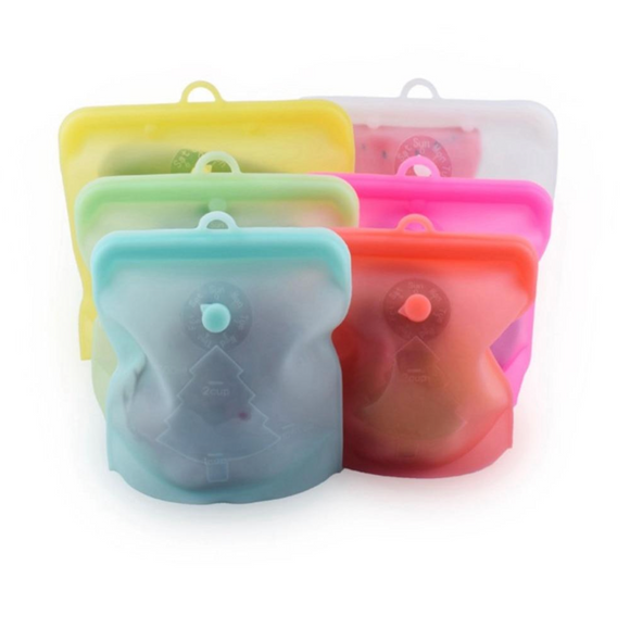 Silicone Reusable Food & Freezer Bags