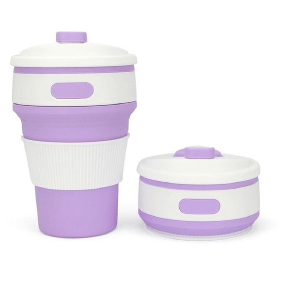 Collapsible Silicone Coffee Mug