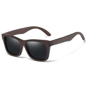 Natural Bamboo Wooden Sunglasses