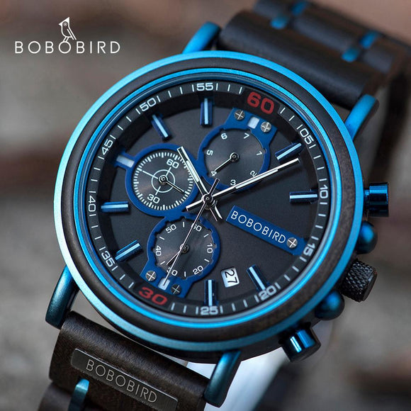 Luxury Chronograph Military Quartz Watches for Men