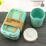 Wheat Straw Lunch Box Set