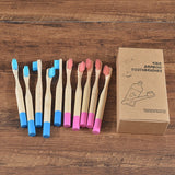 Kids Bamboo Toothbrush's