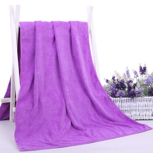 Luxury Bamboo Fiber Bath Towels