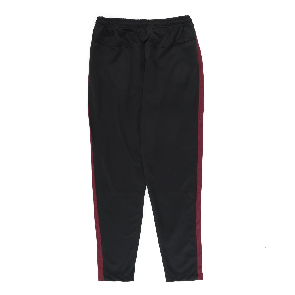 LONGPANTS BASIC BLACK - MAROON