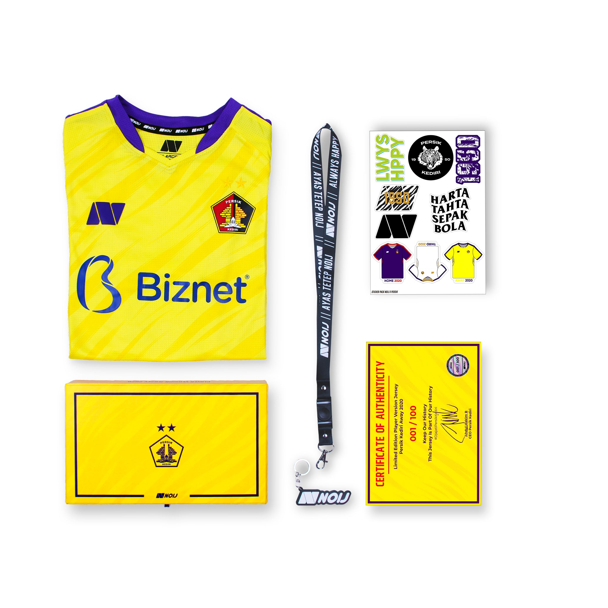 [BOXSET] Persik Away 2020 PLAYER VERSION