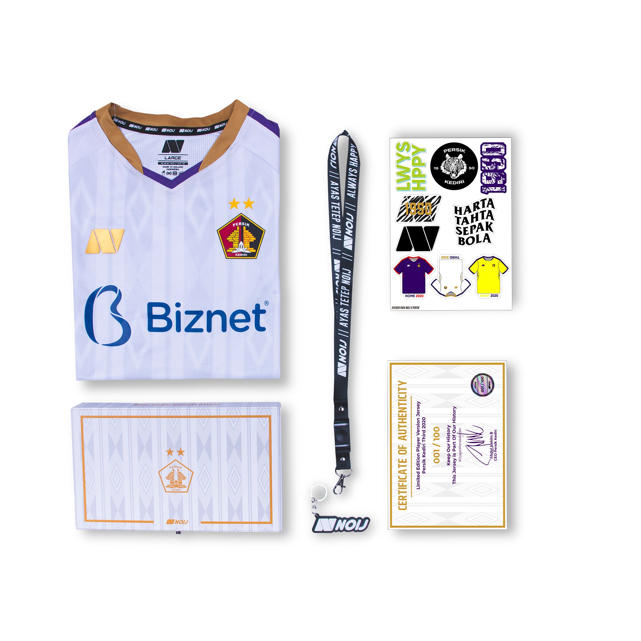 [BOXSET] Persik Third 2020 PLAYER VERSION