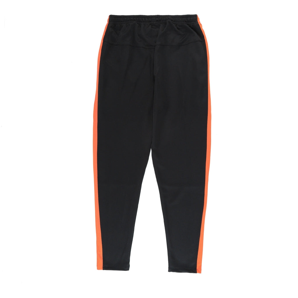 LONGPANTS BASIC BLACK - ORANGE