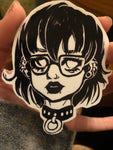 E Girl Sticker
