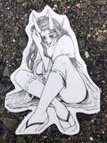 Demon Priestess Sticker