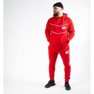 "VTEC-Tracksuit ""BLOODY RED"" L jogger suits"