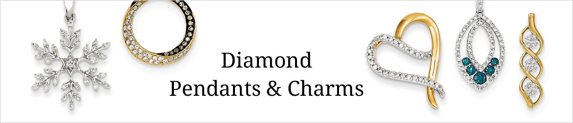 Diamond Pendants and Charms