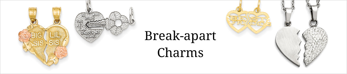 Break-apart Charms