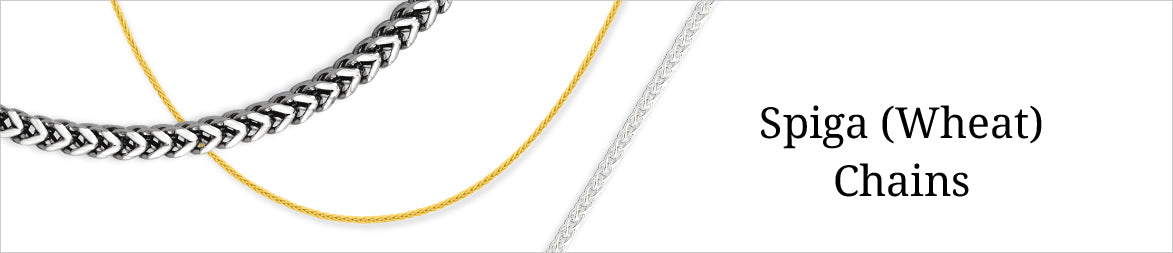 Spiga (Wheat Link) Chains