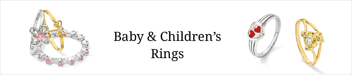 Baby and Children Rings