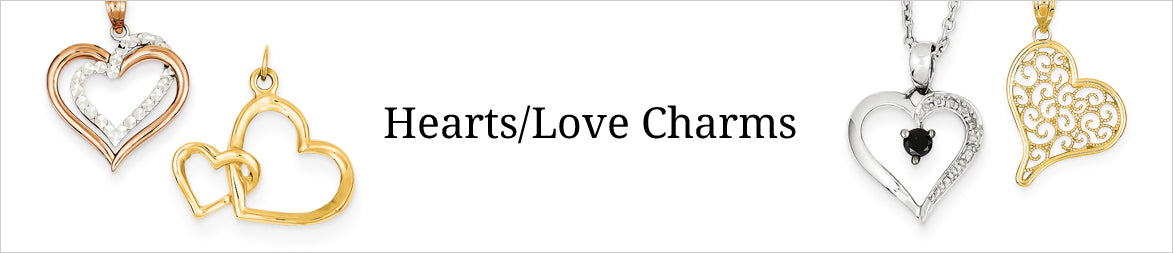 Hearts Love Charms