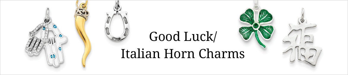 Good Luck Italian Horn Charms