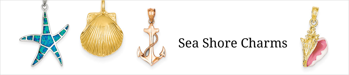 Sea Shore Charms