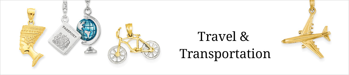 Travel and Transportation Charms