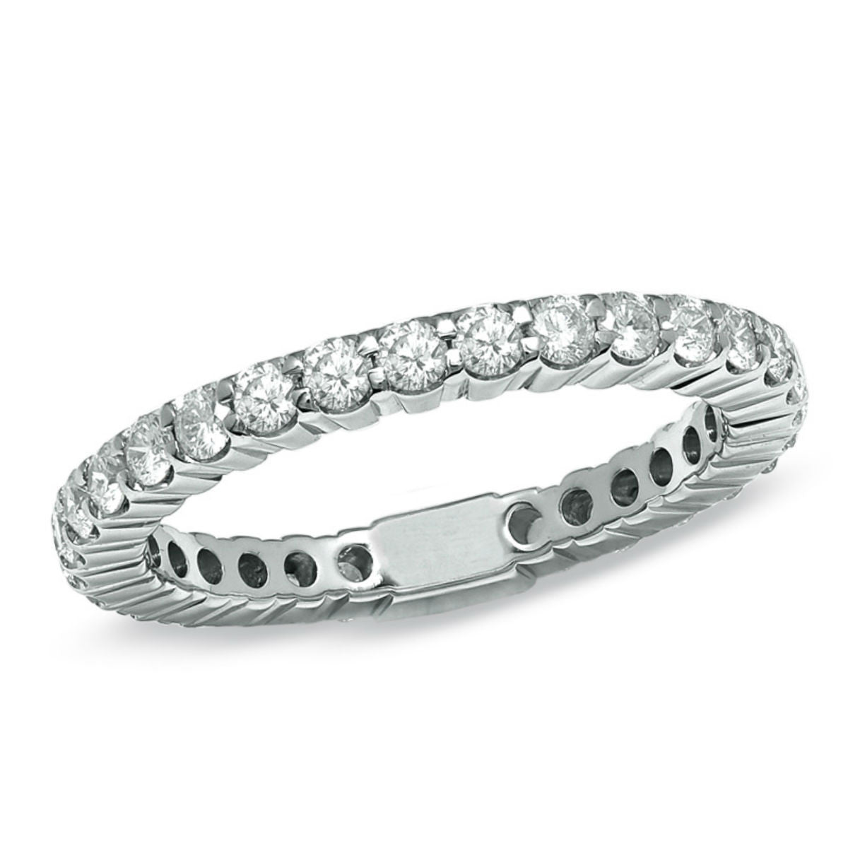 white ruth beaded and tomlinson gold in ring products eternity yellow set wedding band with from bands diamond diamonds