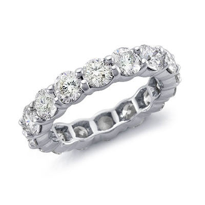 5 ct. tw. Diamond Eternity Band Ring 14K White Gold