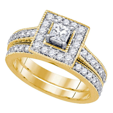 1 CT-DIA 1 / 3CT-CPR BLISS CONJUNTOS DE NOVIA SINGLE HALO